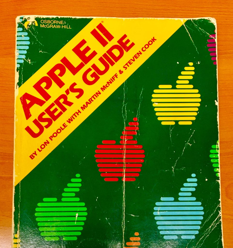 Apple II User's Guide book cover