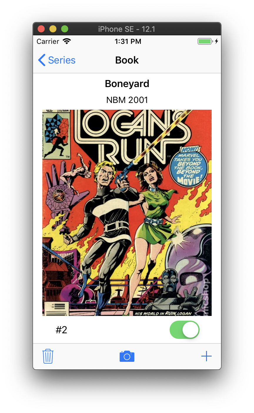 Comic Book S For Iphone